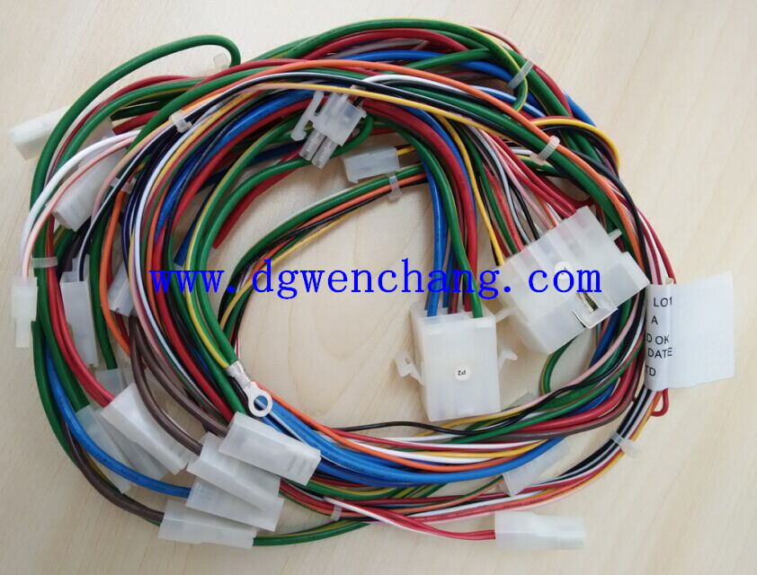 [DIAGRAM_0HG]  Wire Harness for Internal Wiring of Home Appliance, Electrical Equipment by  PVC Cable UL1007 | Appliance Wire Harness |  | PUR Cable,XL-PE Cable,Computer Connector,Flat Ribbon Cable-Dongguan  Wenchang Electronic