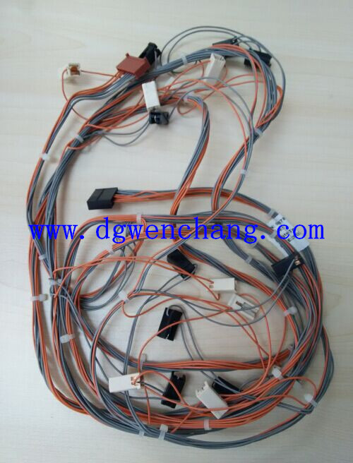 wire harness for internal wiring of home appliance, electrical equipment by  pvc cable ul1571